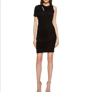 New Yigal AZROUËL One Sleeve Dress with Rouching